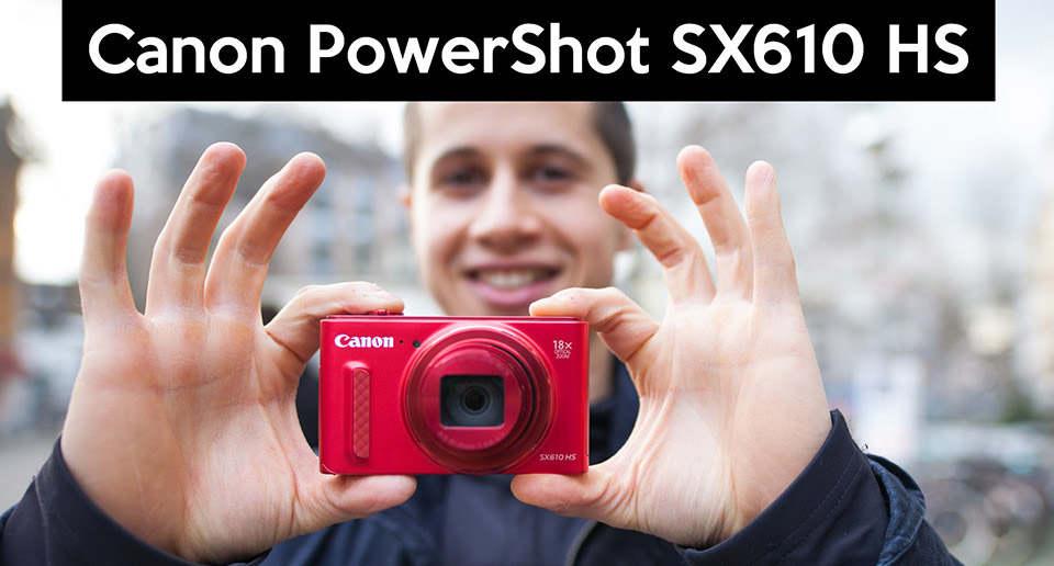 دوربين کانن Powershot SX610 HS