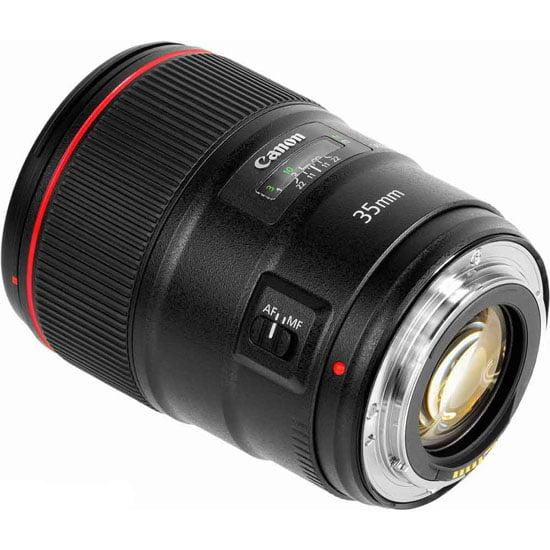 لنز دوربين کانن مدل EF 35mm F/1.4L USM