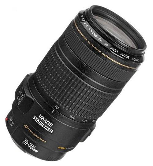 لنز کانن مدل EF 70-300mm f/4-5.6 IS USM