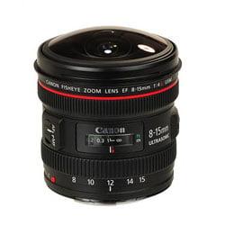 لنز کنون Canon EF 8-15mm f/4L Fisheye USM