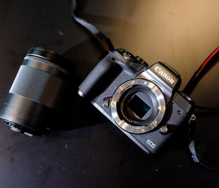 لنز دوربین کانن