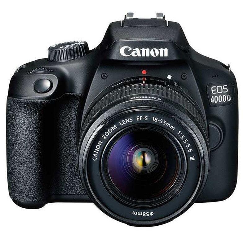 دوربین کانن مدل EOS 4000D با لنز 18-55 میلی متر DC III