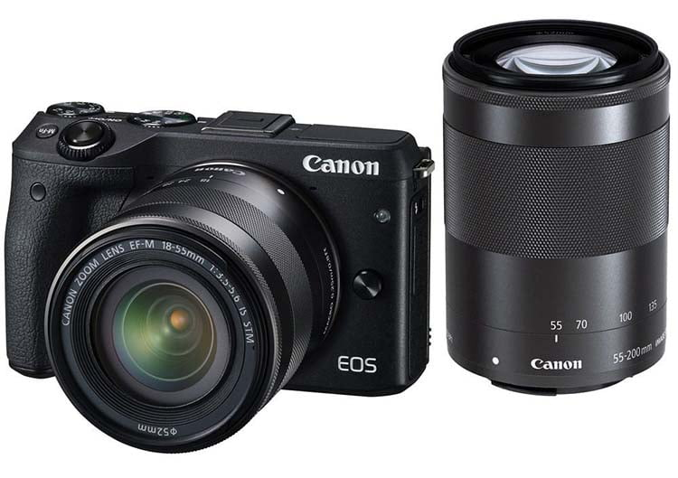 لنز Canon EOS M3