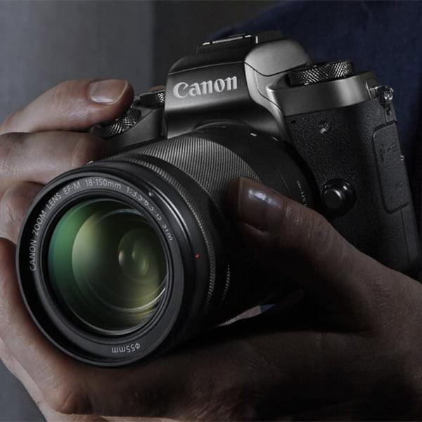 دوربین بدون آینه کانن Canon EOS M5 Mirrorless 18-150mm