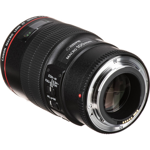 لنز کانن Canon EF 100mm f/2.8 Macro USM