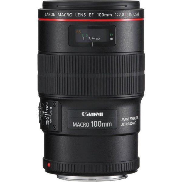 لنز کانن Canon EF 100mm f/2.8L