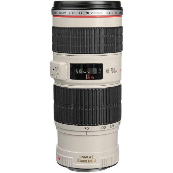 لنز کانن مدل EF 70-200mm f/4L IS USM