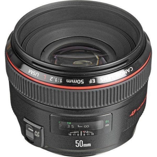 لنز کانن Canon EF 50mm f/1.2L