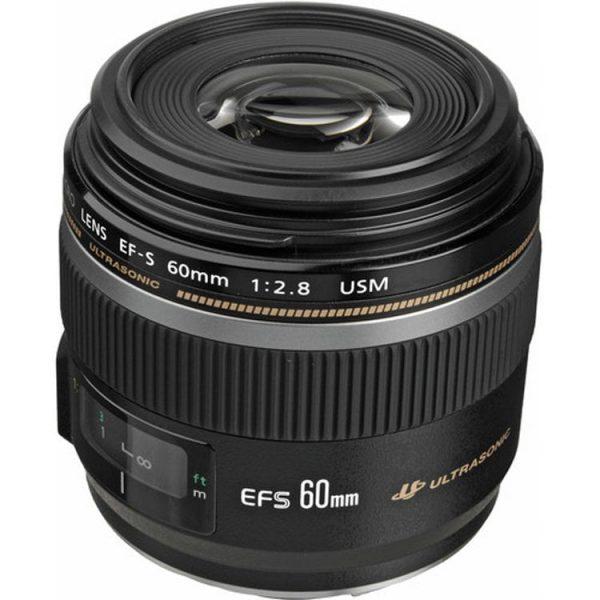 لنز کانن مدل EF-S 60mm f/2.8 Macro USM