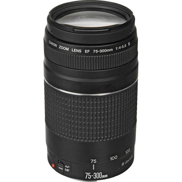 لنز کانن مدل Canon EF 75-300mm f/4-5.6 III