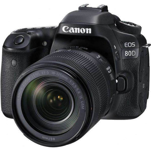 دوربین عکاسی کانن Canon 80D Kit 18-135mm