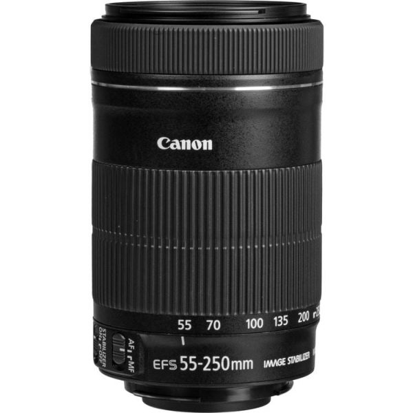لنز کانن Canon EF-S 55-250mm f/4-5.6 IS STM
