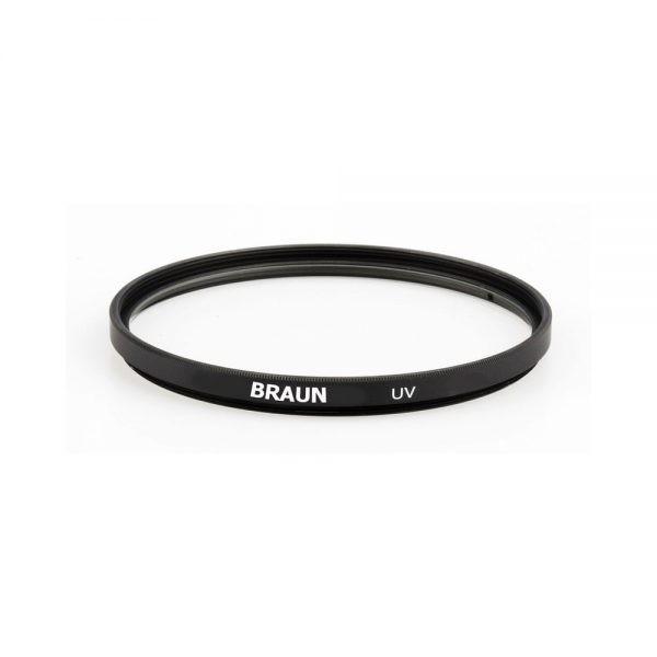 فیلتر لنز عکاسی یو وی BRAUN UV Filter 49mm