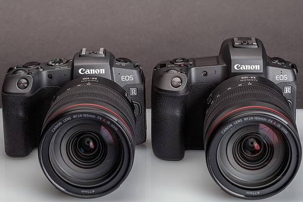 مقایسه دوربین کانن EOS R و دوربین کانن EOS RP