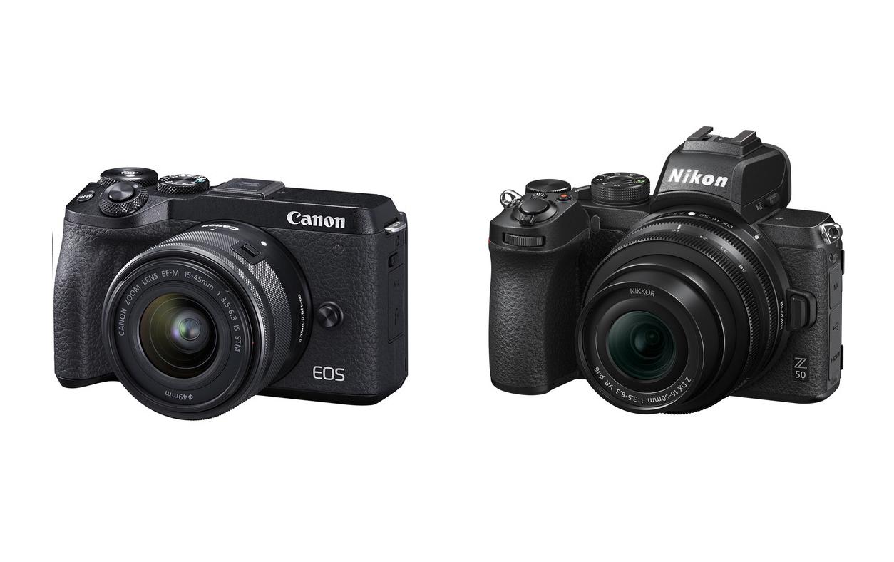 مقایسه دوربین کانن M50 و نیکون Z50