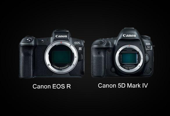 مقایسه دوربین EOS R و دوربین 5D