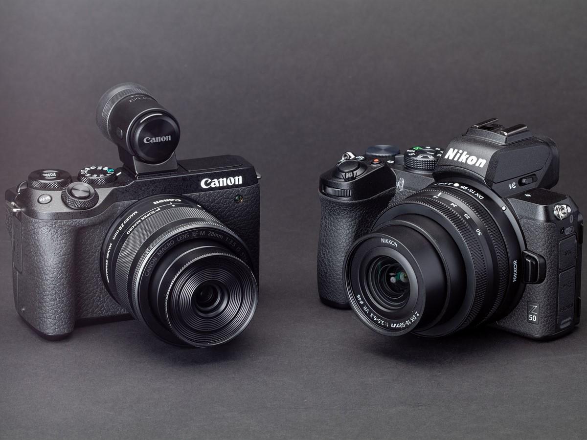 مقایسه کانن M50 و نیکون Z50