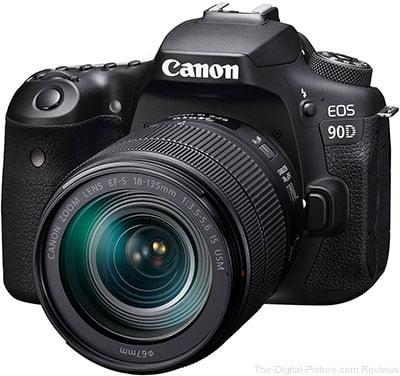 آموزش کار با دوربین 90D کانن