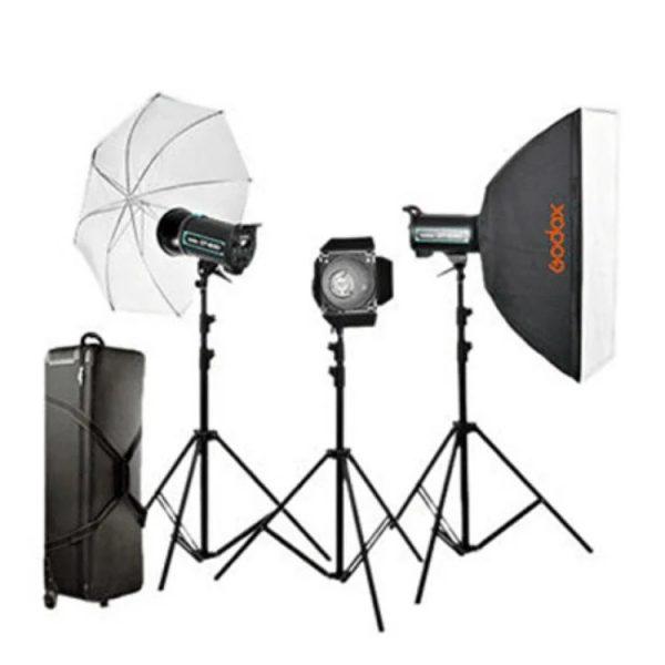 کیت فلاش استودیویی گودکس QS-300 II