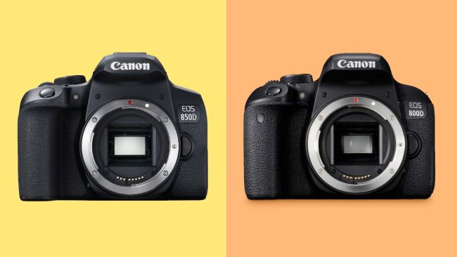 مقایسه-دوربین-کانن-800Dو-دوربین-کانن850D