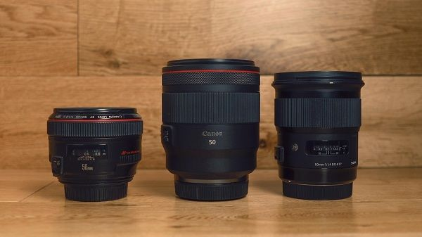 مقایسه لنز کانن 85mm f1.8 و لنز f1.4