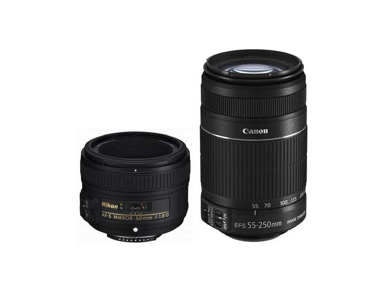 مقایسه لنز 50 میلیمتر f/1.4 با f/1.8