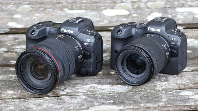 CANON EOS R6 VS EOS R5