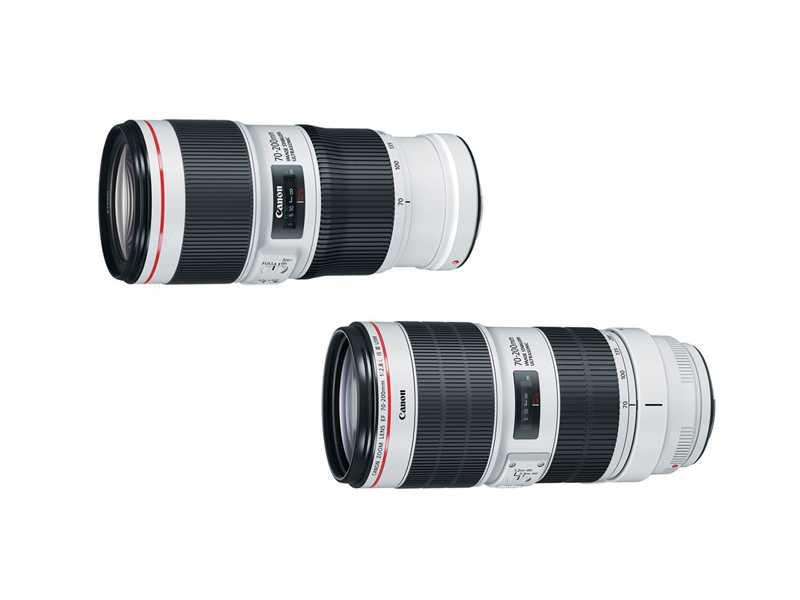 مقایسه لنز کانن 70-300mm f3.5-5.6 با لنز کانن EF 70-200mm f/2.8 L USM